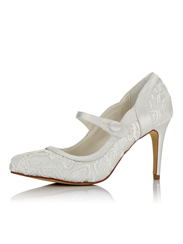 Stylish Satin Wedding Shoes SW01679101I