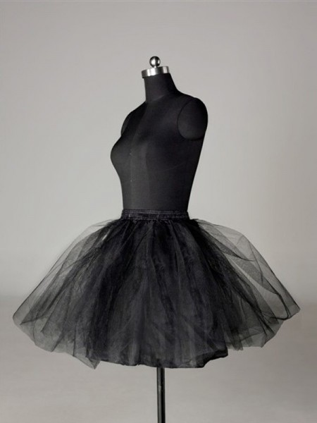 Tule Netting Baljurk 2 Tier Short Length Speciaal Gelegenheid Petticoats